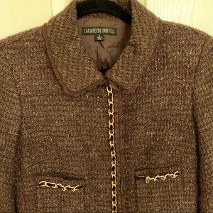 LAFAYETTE 148 New York Brown Coat